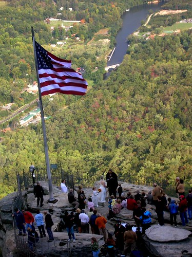 Marriage on Chimney Rock
