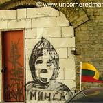 Grim Reaper Graffiti - Vilnius, Lithuania