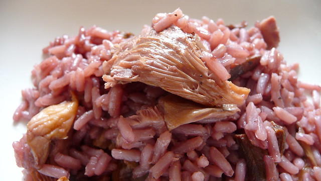 red wine risotto with mushrooms | Flickr - Photo Sharing!