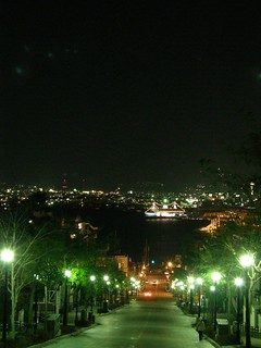 函館八幡坂夜景 @ 2008-11-02