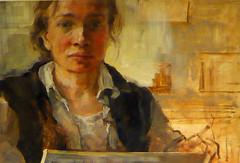 art, painting, self-portrait, portrait, modern art,
