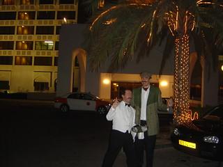 Manuel & I @ Muscat.
