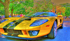race car, automobile, vehicle, performance car, automotive design, ford gt, ford, land vehicle, supercar, sports car,