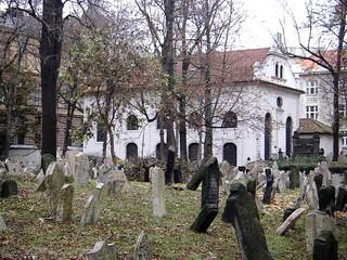 Praha: Josefov - Jewish Cemetery