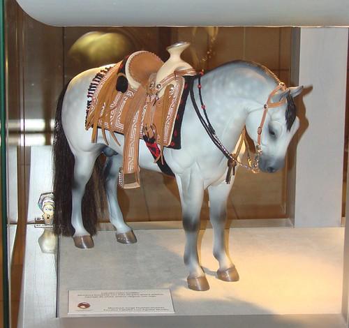 Montura charra miniatura con caballo escala 1 6 mexican for Monturas para caballos