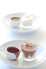 hot chocolate affogato