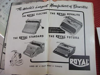 ROYAL - The World's Largest Manufacturer of Typewriters