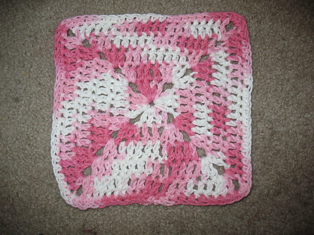 Crochet Granny Square Dishcloth Pattern : FO: Granny Square Dishcloth I have a secret to tell you ...