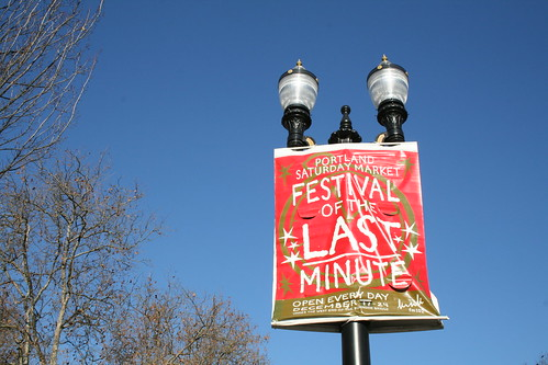 Portland Festival of the Last Minute