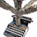 Typewriter Christmas Tree