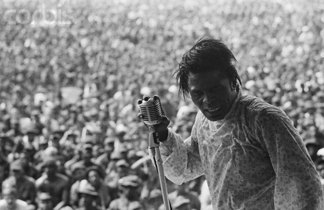 James Brown Performs for American Soldiers in Vietnam, 1968, Christian Simonpietri
