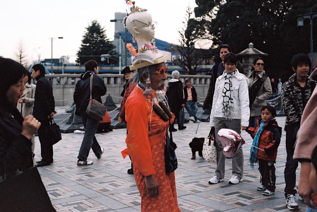 Harajuku Sunday-Meiji Sq