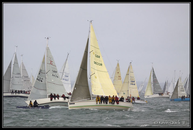 WORKOUT (GBR4476) a Sigma 33 OOD RUTHLESS (GBR9633R) a Dehler 33 Cruising