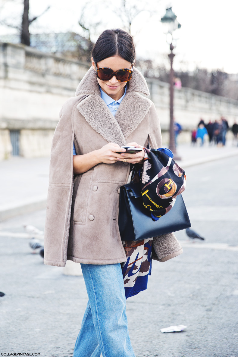 Paris_Fashion_Week_Fall_14-Street_Style-PFW-_Valentino-Miroslava_Duma-Denim-Shearling_Vest-3