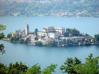 Lago d'Orta - Italien - Italy - Lake - English - German