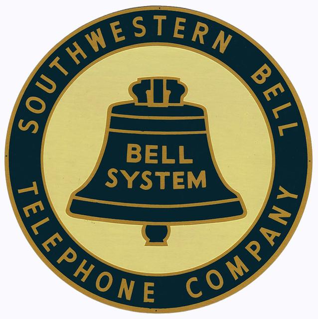 Southwestern Bell truck sticker - 1960s