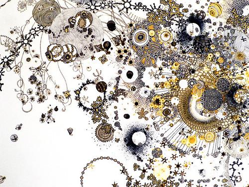 """Jill Gallenstein """"Ex Nihilum"""" Detail"""