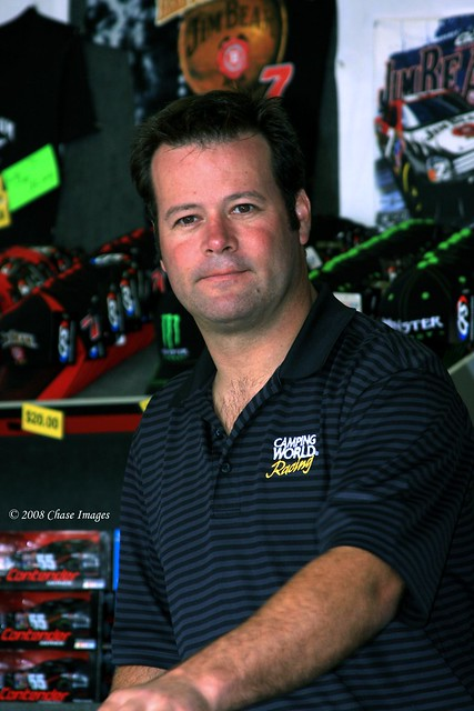 Robby Gordon-Driver & Owner of the #7 Jim Beam