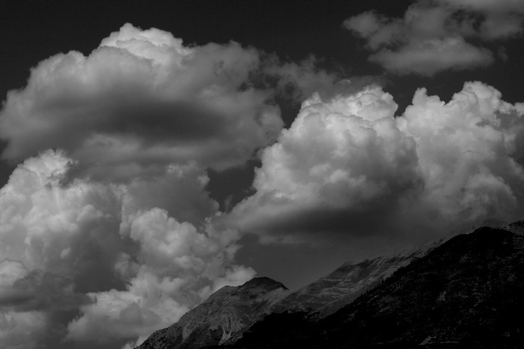 Black & White Clouds