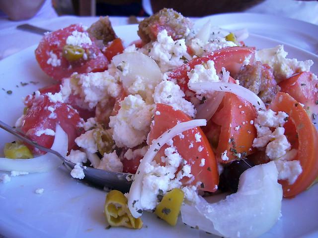 Crete - Dako Salad in Sfakia