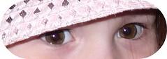 Kim  brown eyes