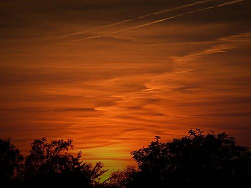 sunset viewoutofmywindow rinteln