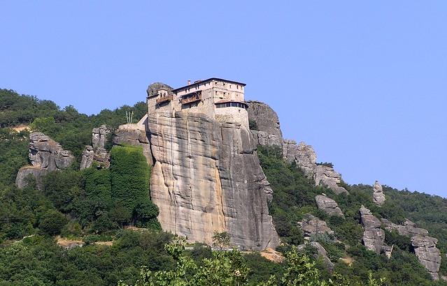 Holy Monastery of Rousanou (St. Barbara), Meteora - a ...
