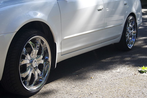 Chrome Wheels...