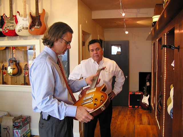 Photo:Redbone Guitar Expert  Loves The New Bill Collings Guitars By Howdy, I'm H. Michael Karshis