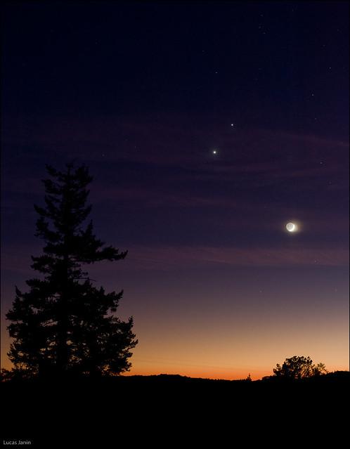 moon and jupiter alignment - photo #49