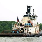 FRANCIS E. ROEHRIG Tugboat, Hutchinson River, Bronx NYC