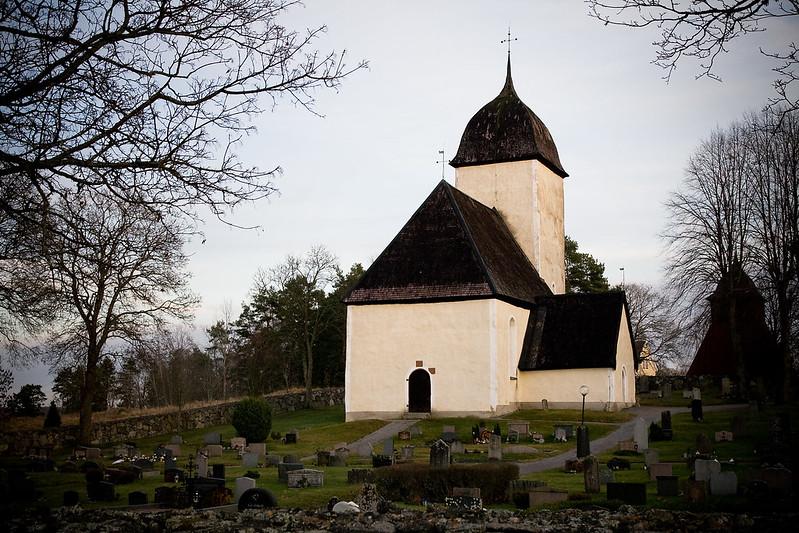 Husby-rlinghundra Church, Mrsta, Sweden
