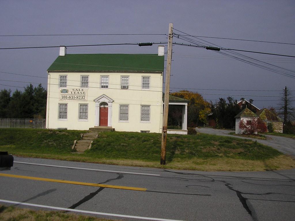 House west of Jug Bridge, Frederick MD