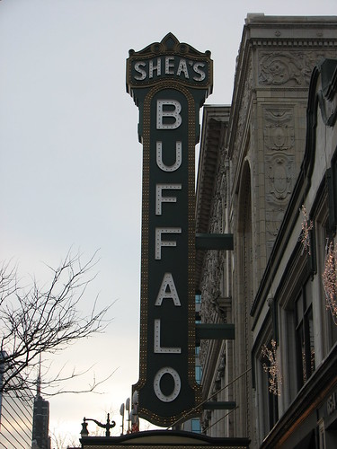 Buffalo, New York - Shea's Performing Arts Center Marquee