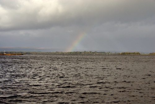 autumn ireland rainbow october lough eire 2008 tipperary derg dromineer