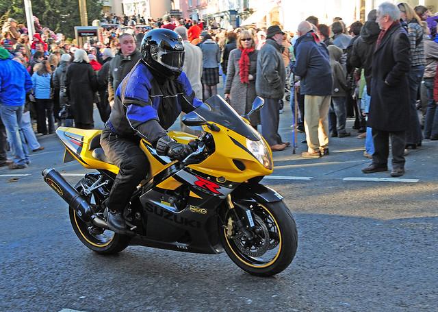 Suzuki GSXR1000 Motorbike, Llandeilo, South Wales