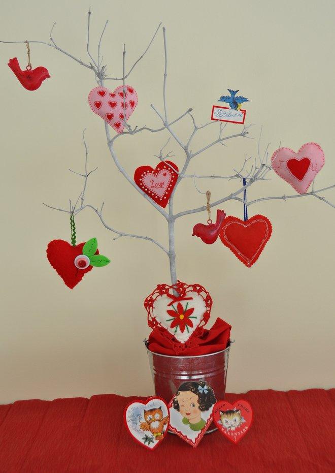 Rosy posy valentine 39 s day tree - Regalos de san valentin para el ...