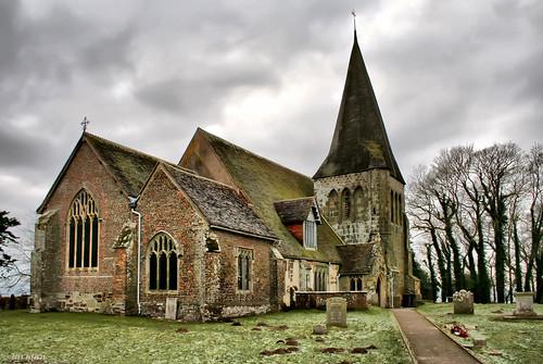 uk england church unitedkingdom churchyard stainedglasswindow molehills allsaintschurch herstmonceux larigan phamilton welcomeuk