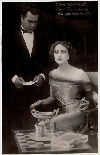 Pina Menichelli, Livio Pavanelli in La seconda moglie