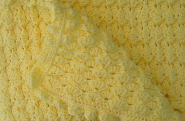 Crochet: Lap robe, sport weight yarn, lap robe