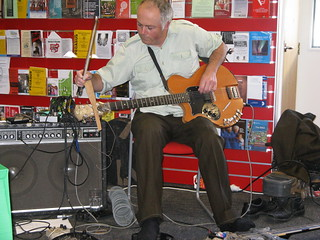 Greg Malcolm at Shirley Library