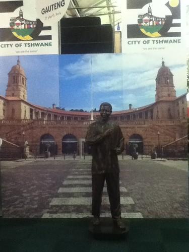 Mandela Statue at Indaba, Durban @ 05.2011