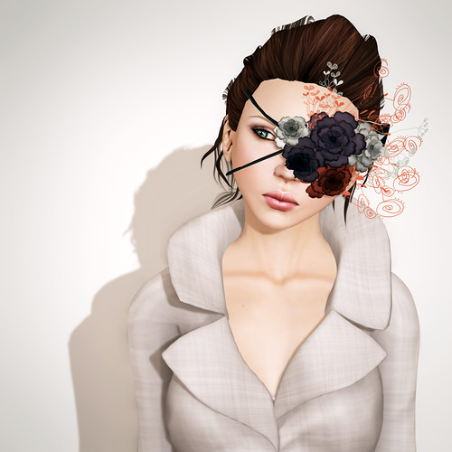 Acces Libre - BND - Flower eyepatch I