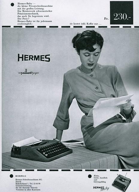 Du 1952-08 Hermes Baby