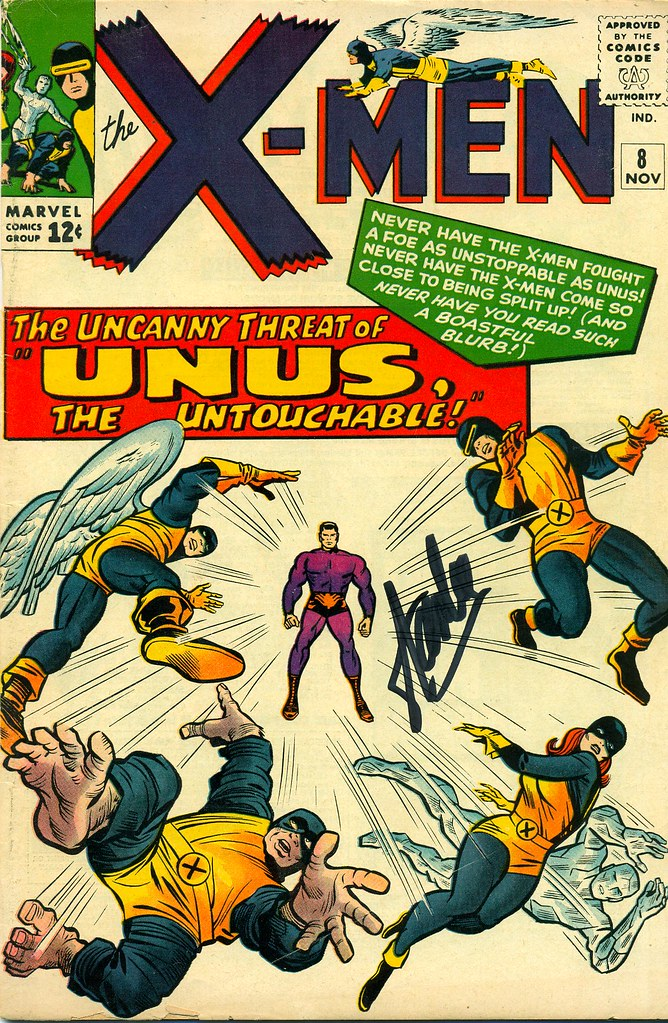 X-Men Comic Book, Issue #8, The Uncanny Threat of Unus, Th
