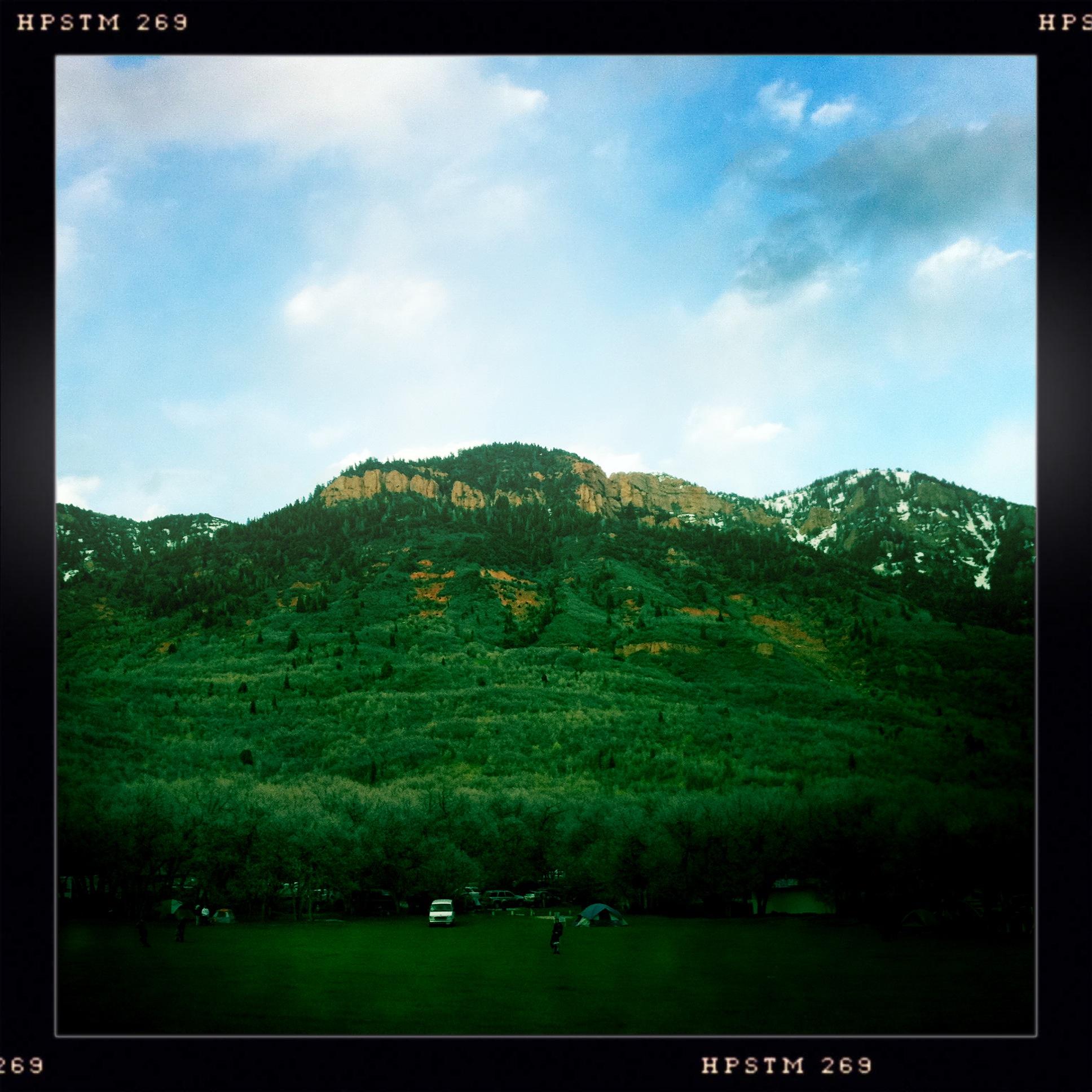 Devils Kitchen Utah: Elevation Of Mount Nebo, Mt Nebo, Utah, USA