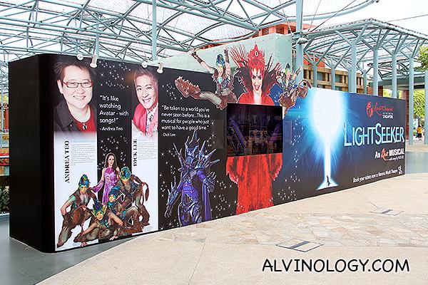 LightSeeker Musical @ Resorts World Sentosa - Alvinology