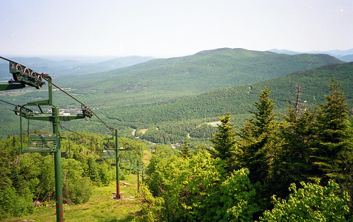 trip vacation mountains trek vermont view weekend llama skilift vista 1995 stowe fathersday smugglersnotch