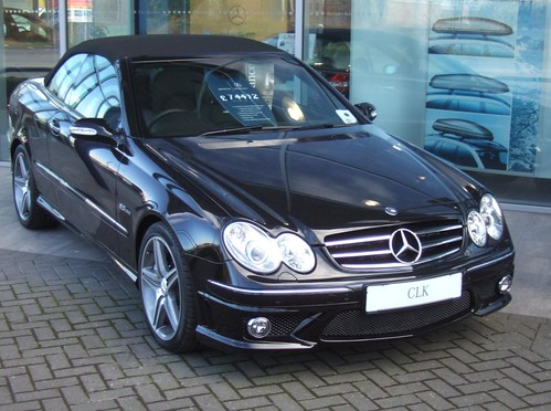 Image gallery 2008 clk for Mercedes benz safety rating