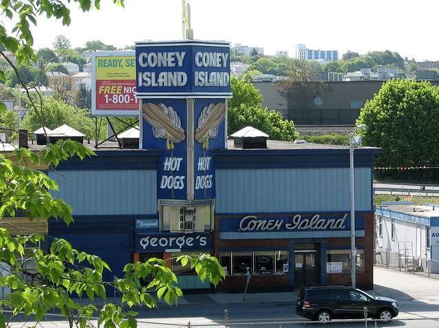 Coney Island Worcester Menu